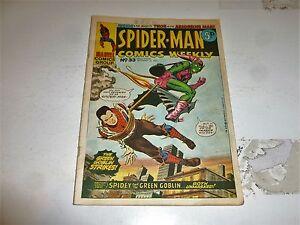 SPIDER-MAN Comics Weekly - No 33 - Date 29/09/1973 - UK Paper Comic