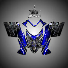 Polaris IQ RMK Shift Dragon Graphics Decal Wrap 2005-2012 Guardian Blue