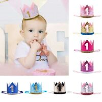 2018 Baby 1st Birthday Flower Cone Princess Hat Crown Headwear Hairband Party