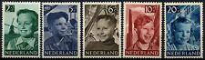 Netherlands 1951 SG#737-741 Child Welfare MH Set #D63872