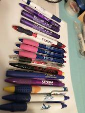Pharmaceutical Drug Rep Pen/Flashlight Lot.