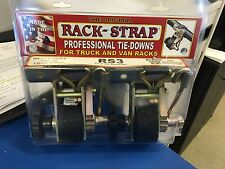 """RACK-STRAP TIE DOWNS RS3 Curved Mounting Bracket For 2"""" O.D. Round Pipe RS3-K8J"""