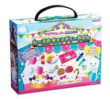 New Kutsuwa Fuwa Fuwa Mousse Paper Clay Making Kit Craft Candy Shop DIY Japan