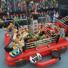 Money in the Bank Rumblers Playset & Carry Case - WWE Mattel Wrestling Figures