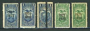 ECUADOR Revenue Fiscal Specialized: LOT #14 - SMALL ASSORTMENT - SEE SCAN $$$