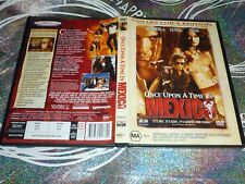 ONCE APON A TIME IN MEXICO COLLECTOR'S EDITION (DVD, MA15+) (P135055-23 A)