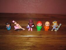 Lot of Vintage Toy Figurines (1) California Raisin Girl (1) Ballerina and more