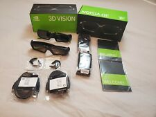 🔥Nvidia GeForce 3D Vision Extra Glasses 2 Pairs Free Shipping Barely Used🔥