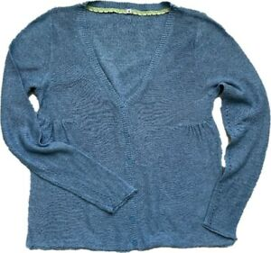 WOMENS BLUE WHITE STUFF LONG SLEEVE SOFT KNIT BUTTONED CARDIGAN JUMPER TOP 10