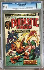 Fantastic Four #148 (1974) CGC 9.6 -- O/w to white pgs; Frightful Four app.