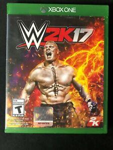 WWE 2K17 (Microsoft Xbox One, 2016) Complete