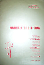 CD MANUALE OFFICINA MOTO GUZZI V35 II-IMOLA-C V50 III-MONZA - C V65 - V65 SP