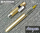Platinum PGB-1000 PLAISIR 0.5 fountain pen YELLOW + 2 cartridges BLUE BLACK ink