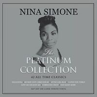 Nina Simone - Platinum Collection [New Vinyl LP] Colored Vinyl, White, UK - Impo