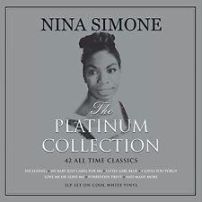 Nina Simone - Platinum Collection [New Vinyl LP] Colored Vinyl, White, UK - Impo