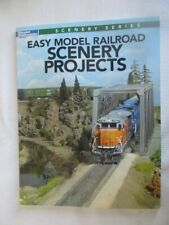 Model Railroader How-To-Books, Scenery Projects