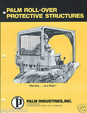 Equipment Brochure - Palm - Roll-Over Protective Structure Rops 2 items (E3050)