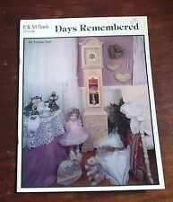 """Days Remembered"" by Yvonne Neff - Tole/Decorative Painting Book"