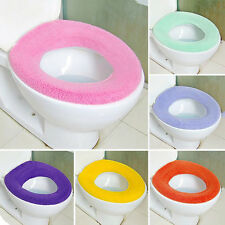 padded toilet seat cover. Showing Up Toilet Washable Seat Cover Soft Pad Lycra Use In O Shaped Flush  AU Padded Seats EBay