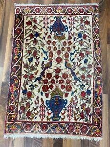 ✔ Afshar | Sirjan | 69 x 98 | Handgeknüpft | Orientteppich | Carpet | Rug