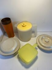 Vintage Lot Of Assorted Tupperware, Tumbler, Pitcher Etc..