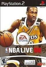 NBA Live 08 (PS2), Excellent PlayStation2, Playstation 2 Video Games
