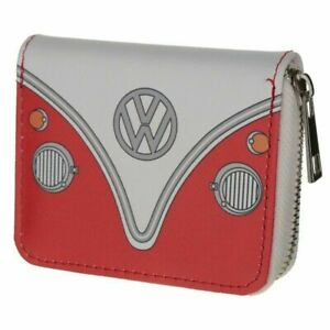 Volkswagen Red VW Campervan Wallet Purse Official Licenced Product