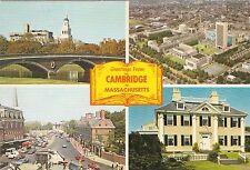 "*Massachusettes Postcard-""Greetings...From Cambridge, Mass./ - (#350)"