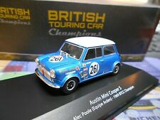 AUSTIN MINI Cooper #261 Poole Racing BTCC Winner 1969 Atlas IXO Altaya SP 1:43