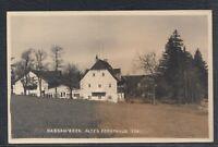 43980) Echt Foto AK Nassau Erzgebirge Altes Forsthaus 1944