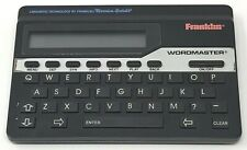Franklin Wordmaster Deluxe Wm-1055 Electronic Dictionary Thesaurus Tested Works