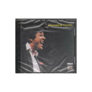 Gianni Morandi CD Morandi In Teatro / RCA ND 71824 Sigillato