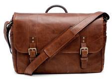 ONA - The Leather Union Street - Camera and 15″ laptop messenger bag Walnutleder