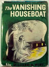 Penny Parker Mystery no.2 The Vanishing Houseboat Mildred Wirt hcdj