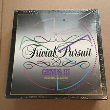Trivial Pursuit Genus III Master Game Board Games Factory Sealed NEW 1994