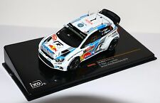 Ixo RAM563 1/43 VW Polo R WRC Monte Carlo Rally 2014 Ogier Night Version RARE