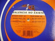 """ITALO-DISCO - VALENCIA NO EXISTE - HEAVEN'S RAVE - 12"""" VINYL EXCELLENT 1993"""