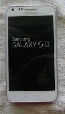 EXCELLENT COND WHITE SAMSUNG GALAXY S2 EPIC 4G D710 SPRINT CDMA 16GB SMART PHONE