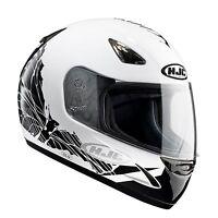 HJC CS14 CS-14 Coco White Full Face Motorcycle Crash Helmet NEW RRP £79.99!