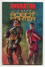 Predator Versus Magnus Robot Fighter 1st Printing TPB Rare Valiant Comics 1994