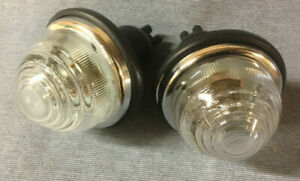 NEW AUSTIN HEALEY 3000 FRONT SIDE FLASHER LAMPS PAIR