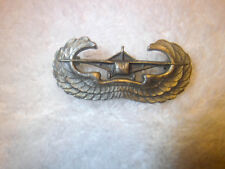 Authentic WWII Sterling Army Airborne Glider Pilot Pinback Wing Badge
