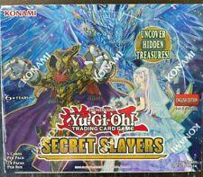 YU-GI-OH TCG SECRET SLAYERS FACTORY SEALED BOOSTER BOX 24 PACKS