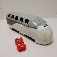 Disney Pixar Cars 2 Stephenson SPY TRAIN TRANSPORTER Carrying Storage Carry Case