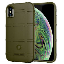 For iPhone XS Max / XR/ XS/X Shockproof Full Cover Rugged Shield Soft Armor Case