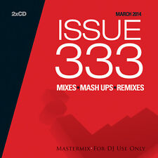 Mastermix Issue 333 Double DJ CD Set Mixes Inc Back To 1996: Dance Mix Remixes