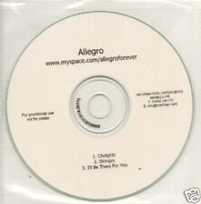 (89V) Allegro, Citylights / Stringys - DJ CD