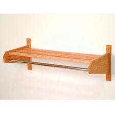 """Wooden Mallet 32 Oak Coat & Hat Rack- 32SCRLO Coat Rack 33.75"""" x 11.5"""" x 15.5"""""""