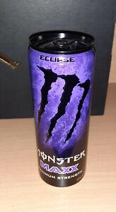 Monster Energy Drink MAXX Eclipse 12oz 355ml USA Voll/Full Black Tap SKU: 0118 N
