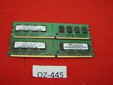 Hynix SDRAM 2GB HYMP125U64CP8-S6 AB 2GB 2Rx8 PC2 6400U-666-12 DDR2 #OZ-445